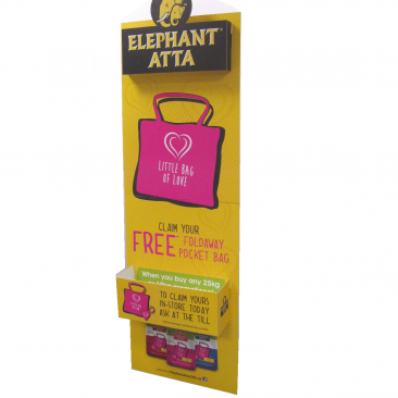 Elephant Atta Standee