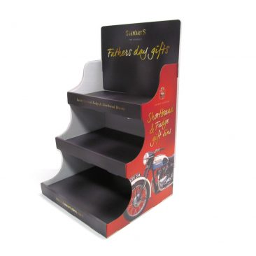 Gift Tin Countertop Display Unit