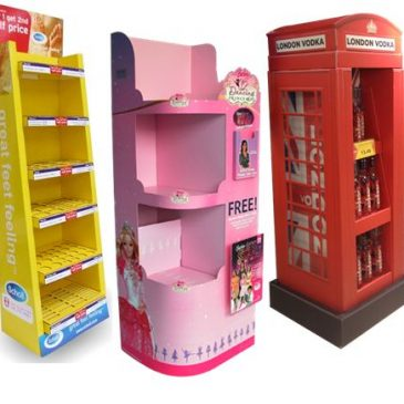Free Standing Display Units. Our FSDUs deliver results in store!