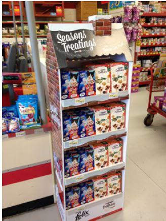 Christmas FSDUs & Point of Sale at Kentons