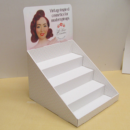 Cosmetics Countertop Display Units WWWKENTONINSTORECOUK Custom Cardboard Display Stands Uk