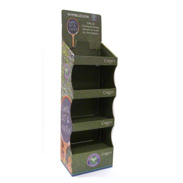 Bespoke Cardboard Free-standing display units (FSDUs)