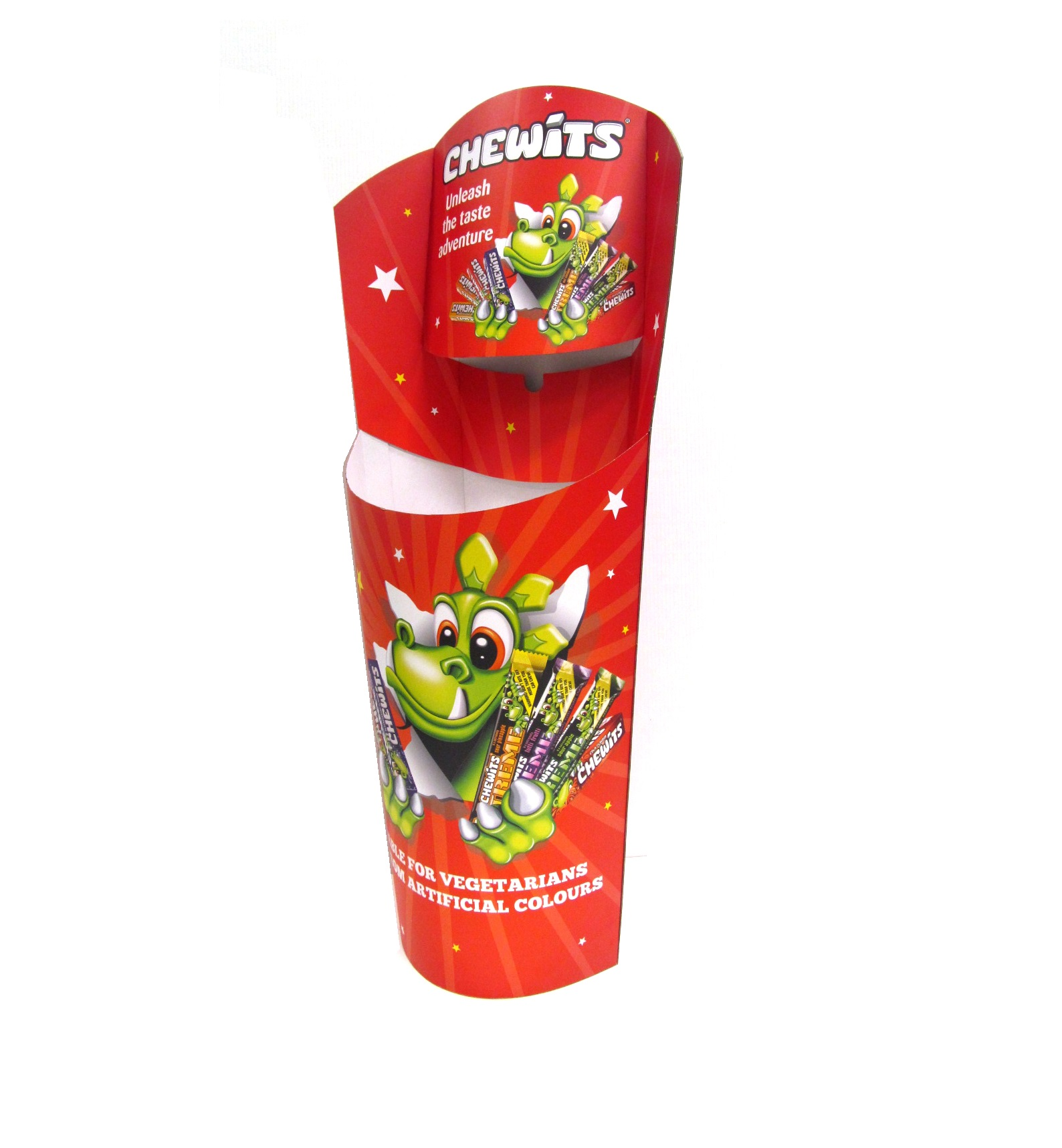 Confectionary / Chewits Dump Bin